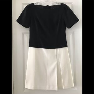 White House Black Market Dress w/Button Details